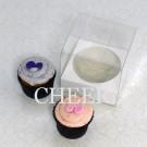 1 Cupcake Clear PVC Box($1.20/pc x 25 units)